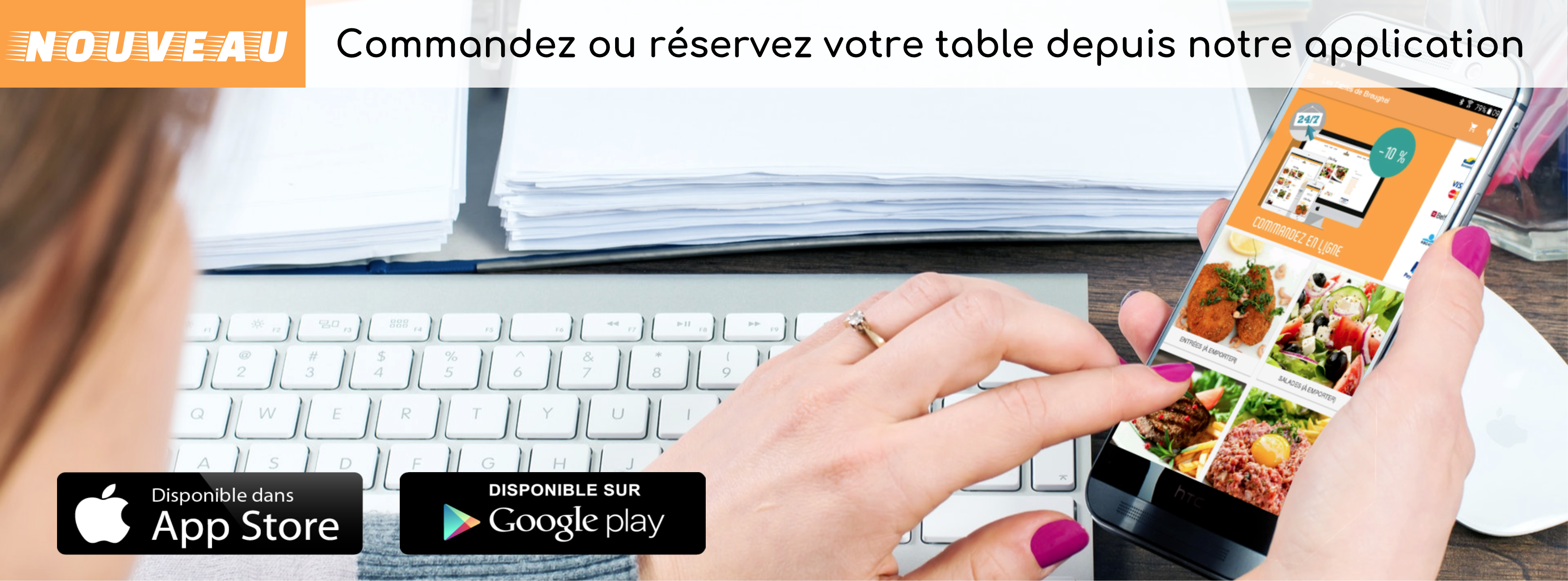 Application mobile Les Tables de Breughel